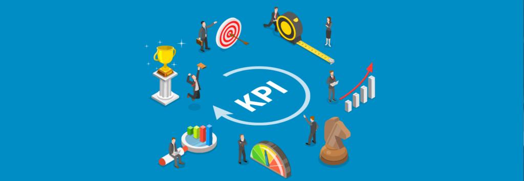 Ilustração sobre kpis e gestão por indicadores